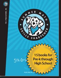 Summer Math Skills Sharpener Samples - Summer Skills