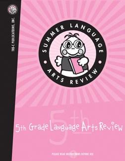 Summer Language Arts Review Samples - Summer Skills