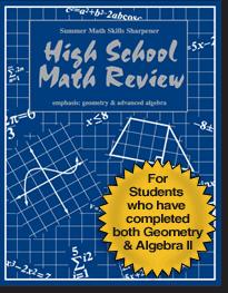 Summer Math Skills Sharpener - Summer Skills